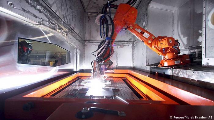 USA 3D Industrie Drucker Norsk Titanium AS