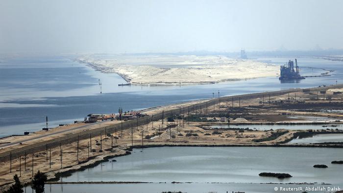 Ägypten Eröffnung Erweiterung Suezkanal