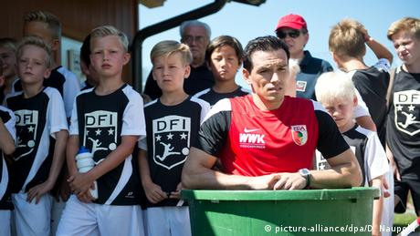 Piotr Trochowski FC Augsburg Trainingslager Kössen