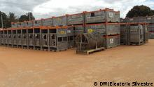 Cestos metalicos gas no Rovuma.JPG - Metal containers transporting material used in gas exploration in the Rovuma basin, Mozambique.