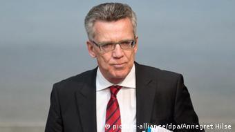 Bundesinnenminister Thomas De Maizière (Foto: