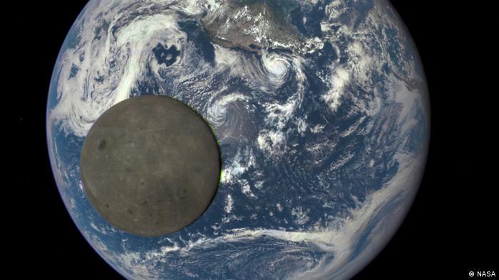 Erde Mond (NASA)