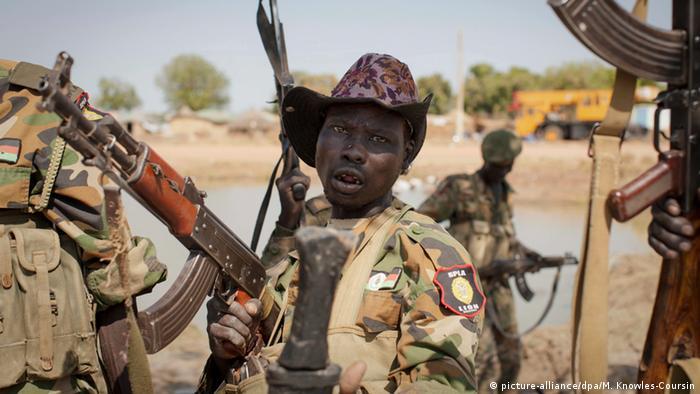 Symbolbild Gewalt Südsudan