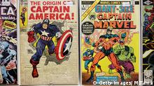 Marvel Comics Captain America Giant Size Captain Marvel