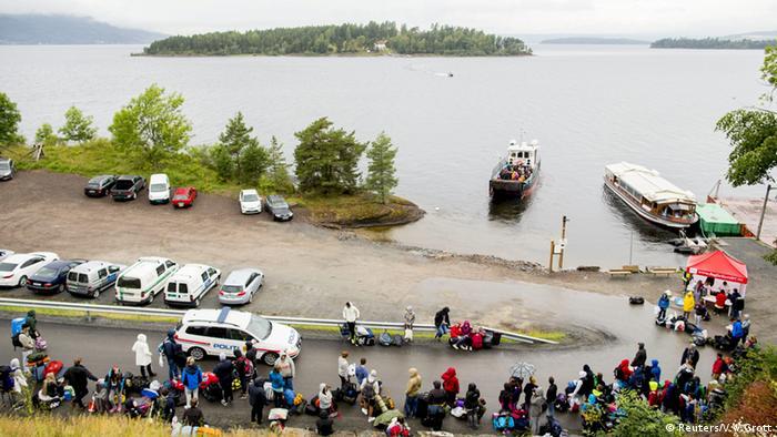 NATO Utoya Norwegen Sommer Camp