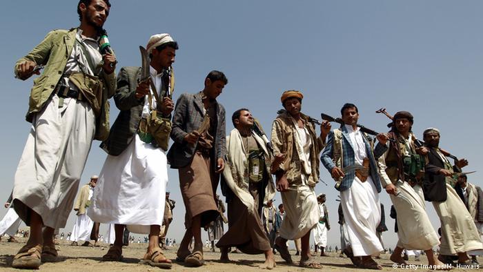 شبهنظامیان حوثی یمن که از سوی ایران حمایت میشوند