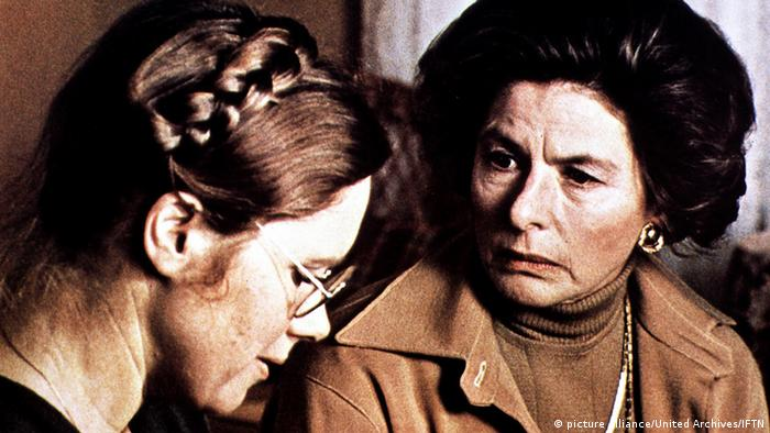Schauspielerin Ingrid Bergman in Herbstsonate