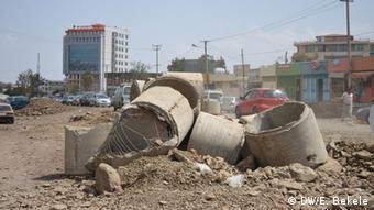 Äthiopien Addis Abeba im Bau