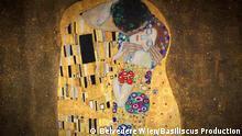 ***Achtung: Nur zur abgesprochenen Berichterstattung verwenden!*** Euromaxx Gustav Klimt - der Kuss Copy: Belvedere Wien / Basiliscus Production