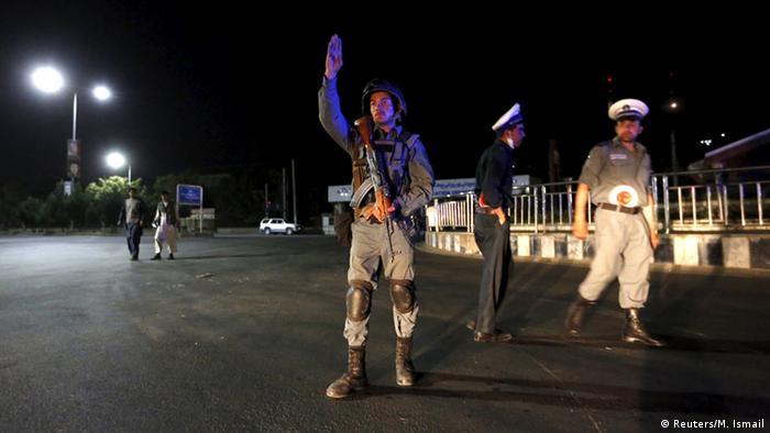 Afghanistan Anschlag auf Polizeiakademie in Kabul
