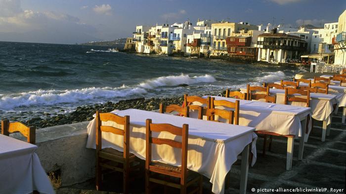 Griechenland Restaurant auf Mykonos