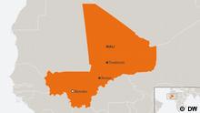 Karte Mali Bamako Timbukutu Sevare SPA