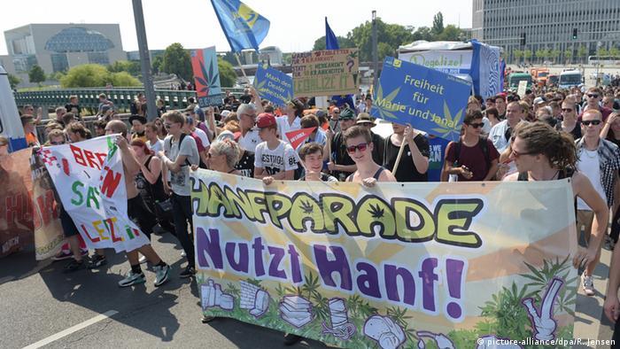 Hanfparade 2015 Berlin