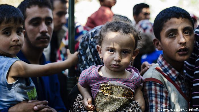 Symbolbild Flüchtlinge Balkan