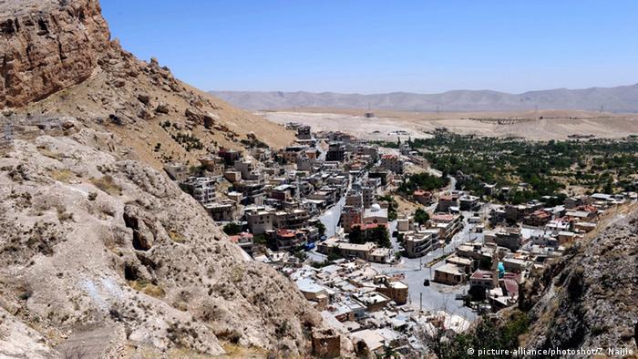 Christliche Stadt Maaloula in Syrien
