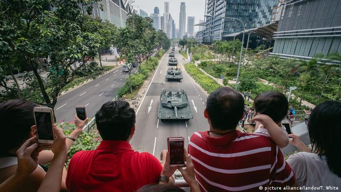 50 Jahre Singapur (picture alliance/landov/T. White)