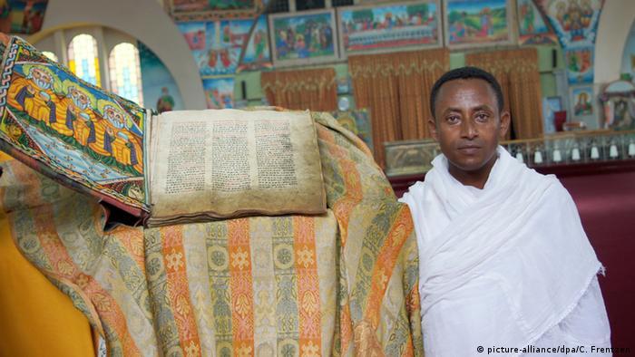Äthiopien Orthodoxe Christen Zemikael Brhane