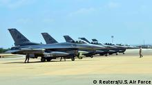 Türkei Incirlik Air Base U.S. Air Force F-16