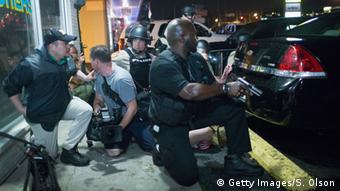 USA Ferguson Schüsse nach Gedenken an Michael Brown