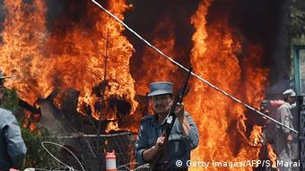 Afghanistan Anschlag am Flughafen Kabul (Foto: Getty Images/AFP)