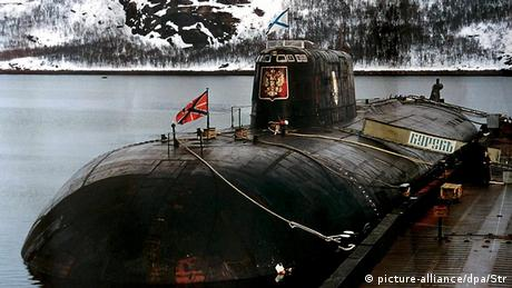Kursk U-Boot Unterseeboot Russland (picture-alliance/dpa/Str)