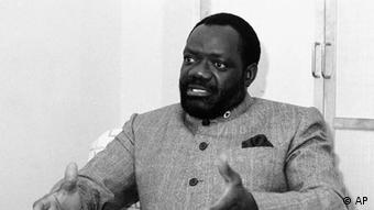 Jonas Savimbi Rebellenführer Angola SW (AP)