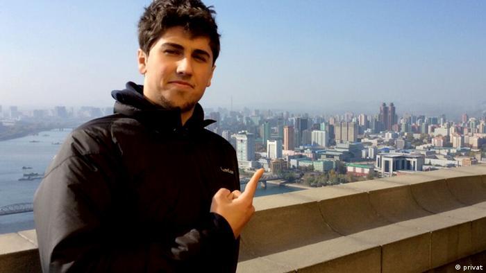 Alessandro Ford Skyline Pjöngjang Nordkorea