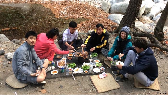 На пікніку з однокурсниками
