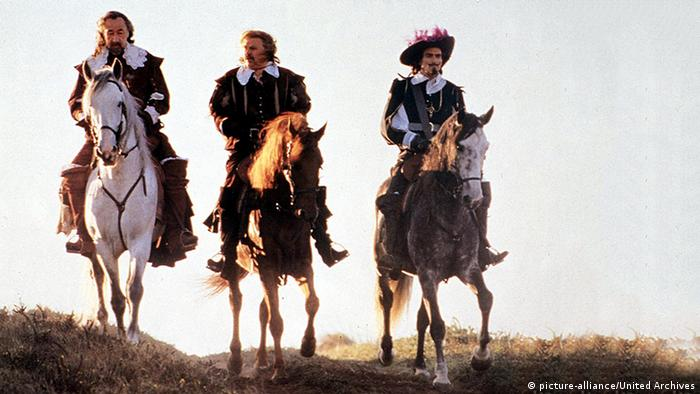 The Three Musketeers in the film by Bertrand Tavernier
