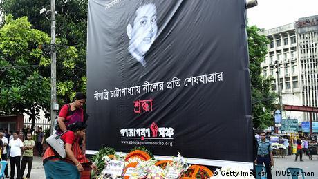 Bangladesch Trauer um getöteten Blogger Niloy Chakrabarti
