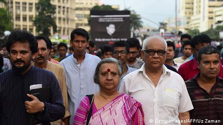 Bangladesch Dhaka Schweigemarsch Blogger Niloy Chakrabarti