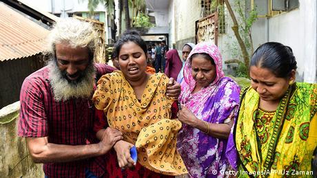Bangladesch Dhaka Asha Moni Ehefrau Blogger Niloy Chakrabarti