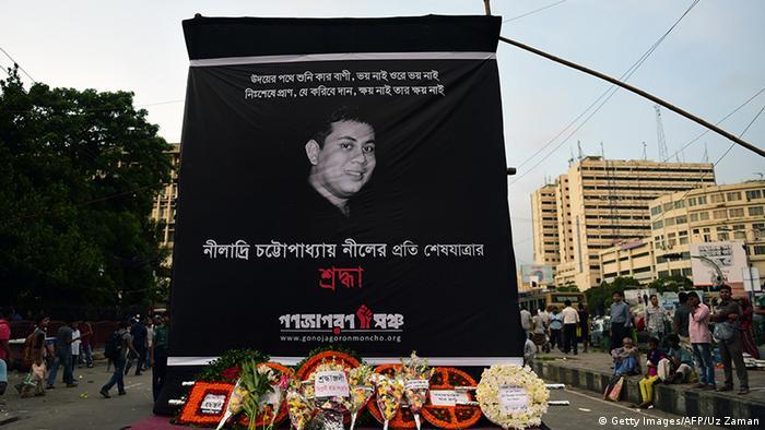 Bangladesch Dhaka Trauer Blogger Niloy Chakrabarti