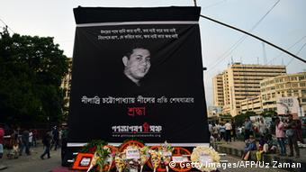 Trauer um Blogger Niloy Neel in Dhaka