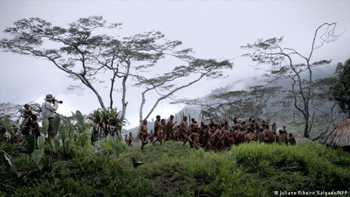 Escena de la película de Wim Wenders La sal de la tierra