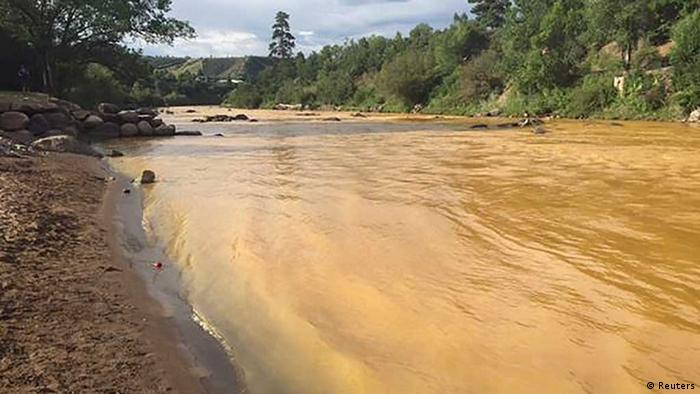 Colorado mining disaster (photo: REUTERS/Colorado Parks and Wildlife Department)