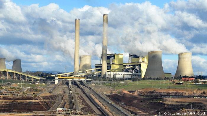 Australien plant Reduzierung von CO2 Emissionen (Getty Images/AFP/P. Crock)