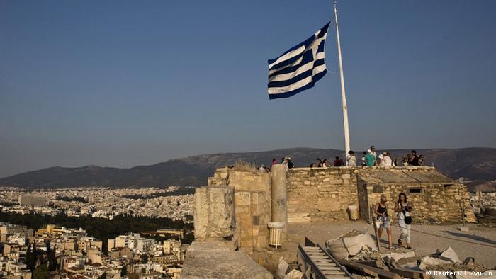 Griechenland Symbolbild Einigung Hilfspaket (Reuters/R. Zvulun)