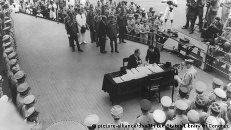 Japan Kapitulation USS Missouri 2. September 1945