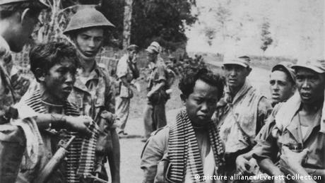 Indonesien Besetzung durch niederländisches Militär 1947