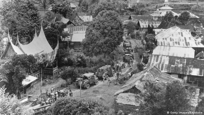 Indonesien Besetzung durch niederländisches Militär 1949