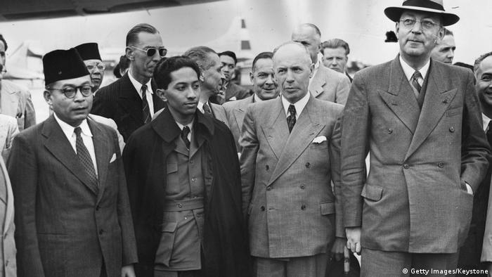 Indonesien Unabhängigkeitsverhandlungen in Den Haag 1949
