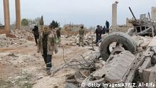 Syrien Kämpfe zwischen IS und Rebellen bei Allepo