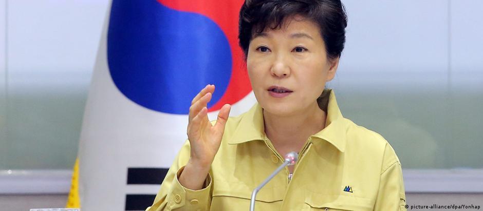 Park Geun-Hye, presidente da Coreia do Sul