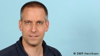 Deutsche Welle Fabian Schmidt App (DW/P.Henriksen)