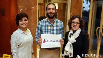 Ägypten HeForShe Fathi Farid