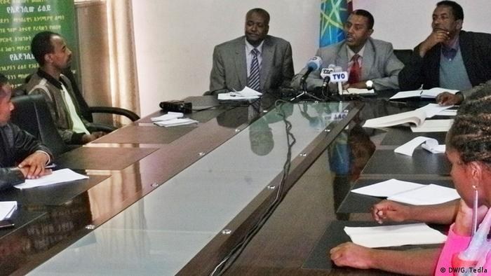 A meeting of the Ethiopian Meteorological Agency