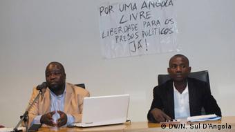 Angola Jurist Albano Pedro