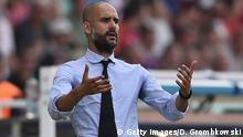 Deutschland Trainer Pep Guardiola