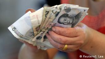 China wertet Yuan erneut ab